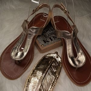 Xappeal Gold Sandals